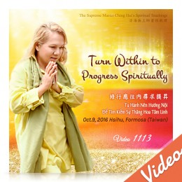 Video-1113 Turn Within to Progress Spiritually